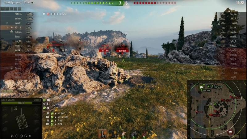Весёленький бой на Cruiser_Mk II(Рудники)