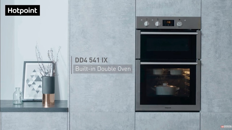 Hotpoint DD4541IX Built in Double Oven