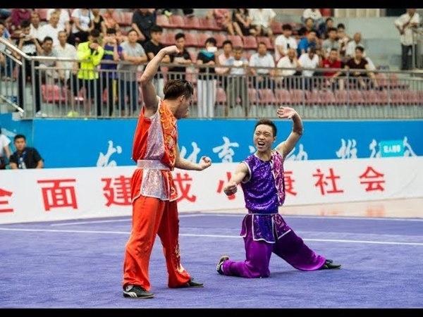 双人南拳 第一名 福建队 孟祥飞 巩鑫杰 9.75分 fu jian meng xiang fei gong xin jie