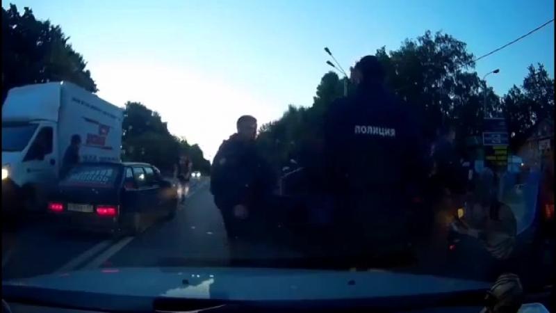 Пьяное быдло на дороге и бездействие полиции