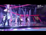 Ira Green - Smoke on the water (Deep purple cover) live @ The Voice of Italy - RAI2 (live show)