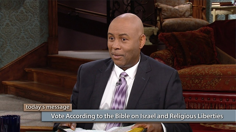 Vote According to the Bible on Israel and Religious Liberties