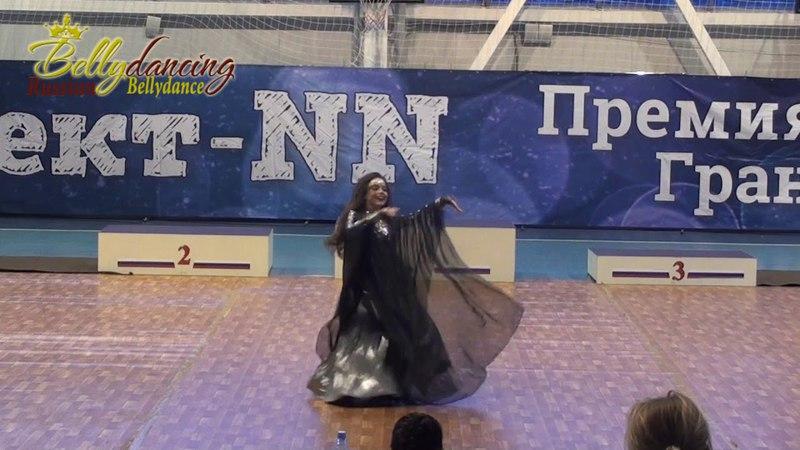 Анастасия Вилкова. Чемпионат ПФО oriental, Н. Новгород