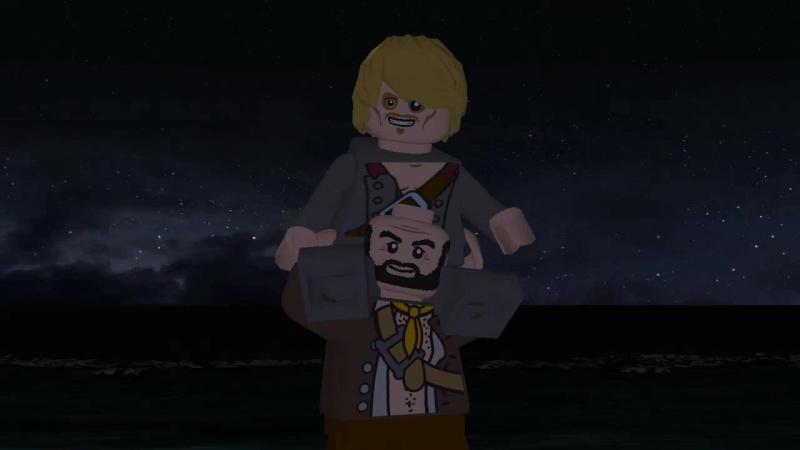 Эпизод 1 (Порт - Рояль) Лего Пираты Карибского моря -Проклятие черной жемчужины