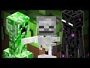 Minecraft Creeper Skeleton Enderman 3D