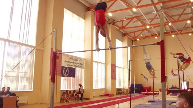 Первенство СПБ по спортивной гимнастике мальчики 2005 года и младше.(26-28.04.2018)