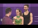 NBC Gabriella Papadakis and Guillaume Cizeron Not Feeling Pressure
