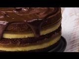 Торт Доминоштайн! Знаменитый Рецепт Австрийской Рождественской сладости.