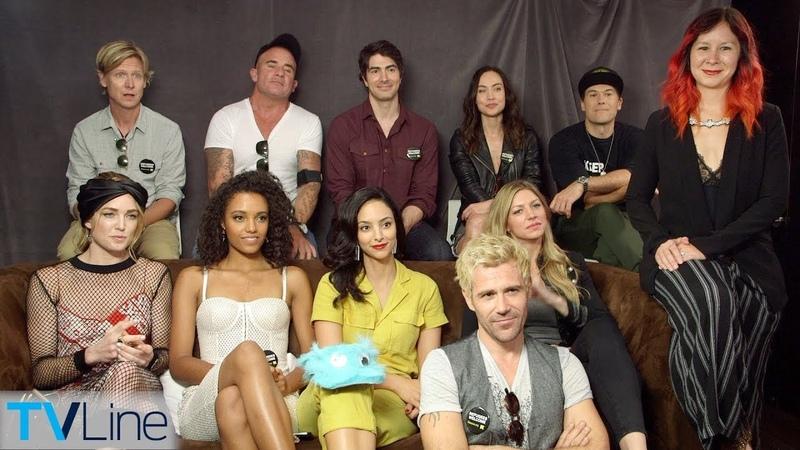 Legends of Tomorrow Cast Previews Season 4 | Comic-Con 2018 | TVLine
