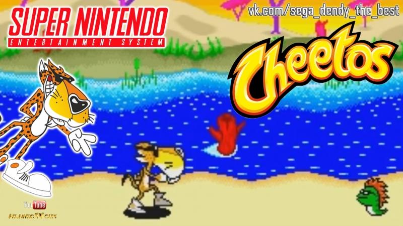 Гепард Честер Супер Нинтендо Прохождение игры Super Nintendo Chester Cheetah Too Cool to Fool SNES