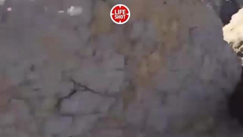В Казахстане спасли жеребенка, застрявшего между камнями