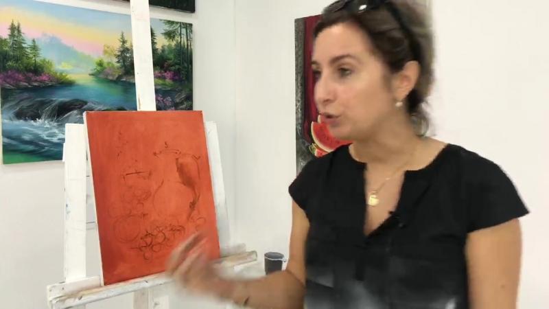 Техники написания картин старых мастеров. Ольга Базанова