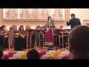 выступление с оркестром имени Осипова