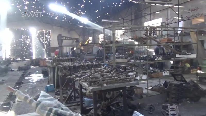 Столкновения между «Ахрар Шам» и режимом в администрации транспортного средства к востоку от Дамаска