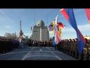На фрегате Адмирал Макаров подняли Андреевский флаг