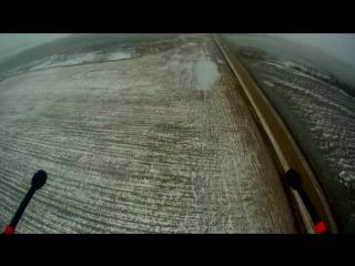 Автономный полет дрона на 5100 метров без связи с наземной станцией