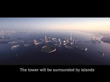 Tokyos Sky Mile Tower set to be worlds tallest and twice as tall as the Burj Khalifa(1700m)
