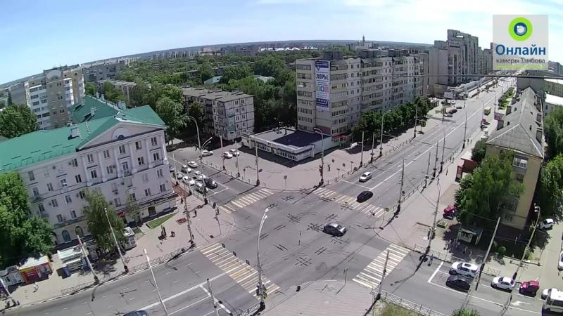 Авария на перекрестке ул Чичканова и ул Советской 24 июня 2018 в 11 37