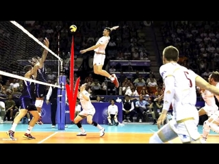 TOP 10 most powerful volleyball 3rd meter spike