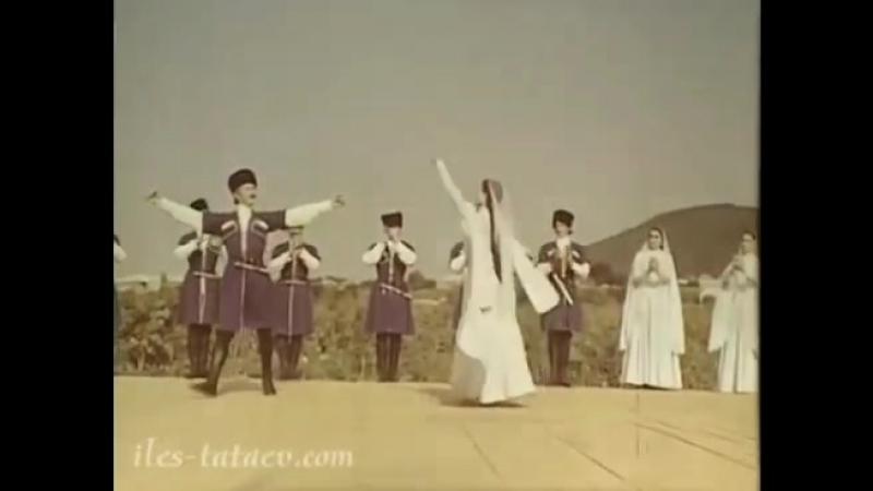 Сольная партия. Чечено-Ингушский ансамбль танца «Вайнах» исполняет «Праздничный танец».