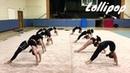 Изнурительные тренировки юных гимнасток Rhythmic Gymnastics