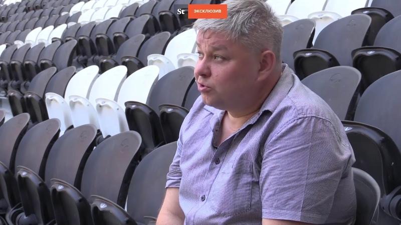 В ДНР показали, как восстанавливают символ ЕВРО-2012 – «Донбасс Арену»