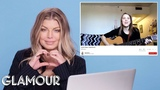 Fergie Watches Fan Covers on YouTube Glamour