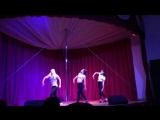 современные танцы - отчетный концерт студии дайкири - Dancehall