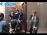 180105 Kris Wu @ 'Europe Raiders' Filming