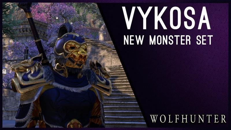 Vykosa Monster Set - Wolfhunter DLC ESO