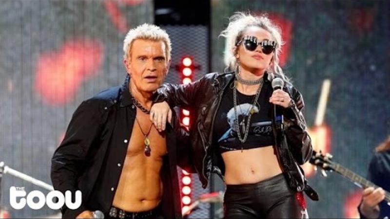 Billy Idol Miley Cyrus - Rebel Yell (Live Performance)