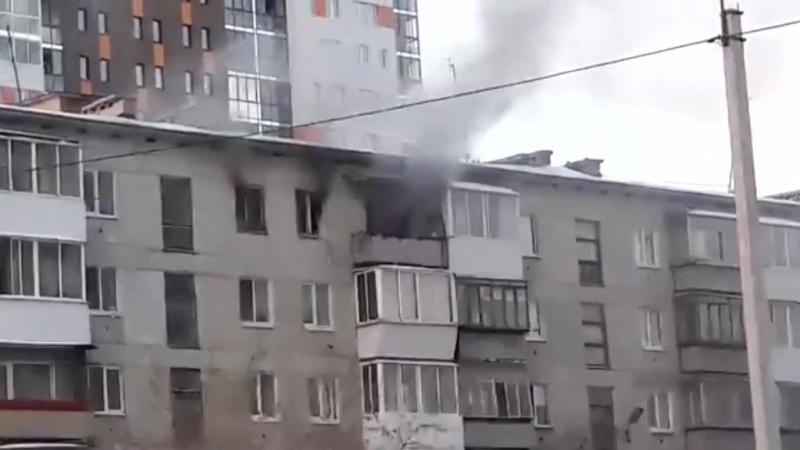 Самодельный фейерверк взорвался в квартире