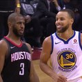 Bleacher Report on Instagram Keep that same energy. Chris Paul shimmied on Steph after hitting a three