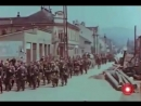 Марш подразделения 1 й дивизии РОА из Праги на запад через Бероун 9 мая 1945
