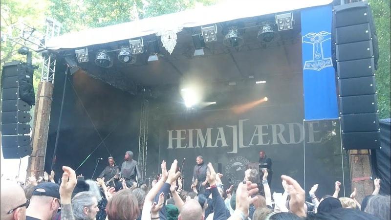 Heimataerde - 'Der Verfall' (Live at 27. WGT 2018)