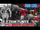 TOM PLATZ Still Squats At Age 62 Then Now Squat Comparison