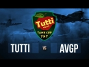 TUTTI CUP | 7x7 | TUTTI vs. AVGP next TUTTI vs. DNM