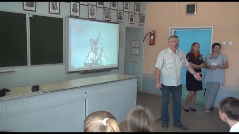 СБНТ Сталинград в СОШ №48. врач Белоглазов Анатолий Иванович
