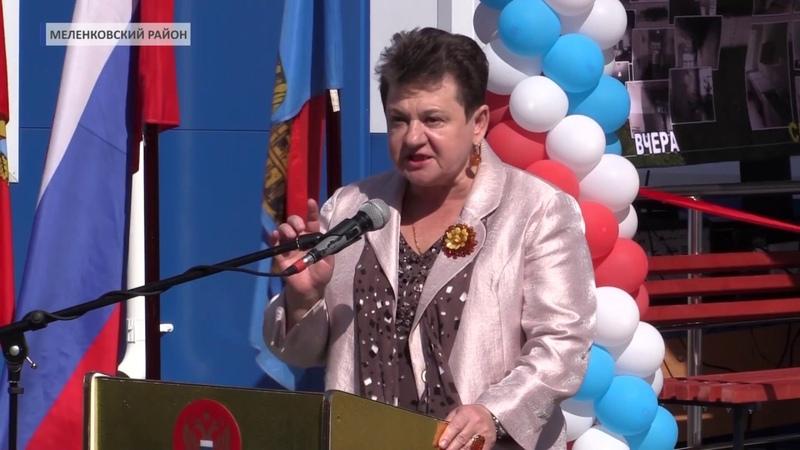 2018 08 24 Губернатор посетила Меленковский район