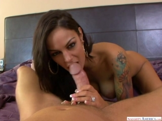 Angelina Valentine [Big Dick, Big Fake Tits, Big Tits, Blow Job, Deepthroating, Facial, Fake Tits, High Heels, Piercings, POV]