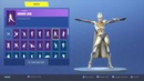 "FORTNITE New ""VENTURA CAPE"" and SKIN Showcased with 50+ Dances/Emotes 