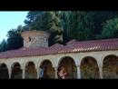 Монастырь на острове Зверенец Влер Албания 23 июня 2018 Серж Романский Актау