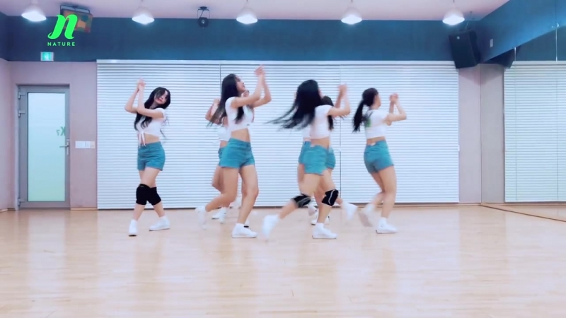 NATURE(네이처) Allegro Cantabile 안무 영상 (DANCE PRACTICE)