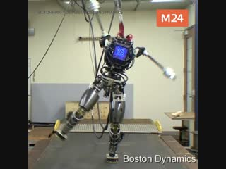 Мастер-класс по паркуру от робота Атласа