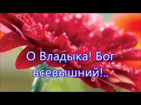 О Владыка Бог Всевышний Тебя мы славим в этот час - Песня Хвалы