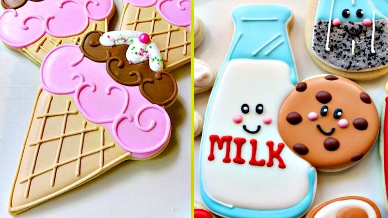 Cookies Tasty Awesome Cookies Art Decorating Compilation Satisfying Cake Decorating Videos 87