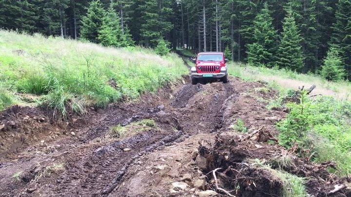 Jeep Wrangler Rubicon умеет отключать передний стабилизатор - и вот для чего