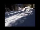 NSC Розахутор сноуборд Спуск с Каменного столба на Юга