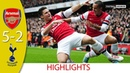 Arsenal vs Tottenham Hotspur 5-2 | Goals and Highlights | 2012 (English Commentary)
