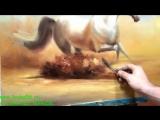 Южаков Пишем Коня живопись маслом (www.lavka56.ru)